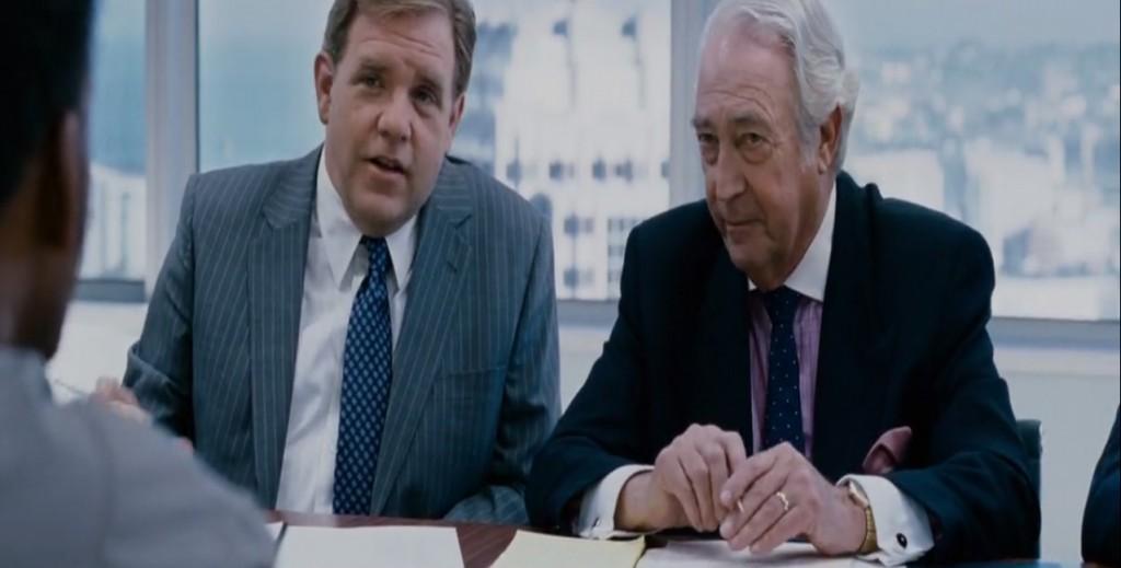 dos adultos en entrevista de trabajo
